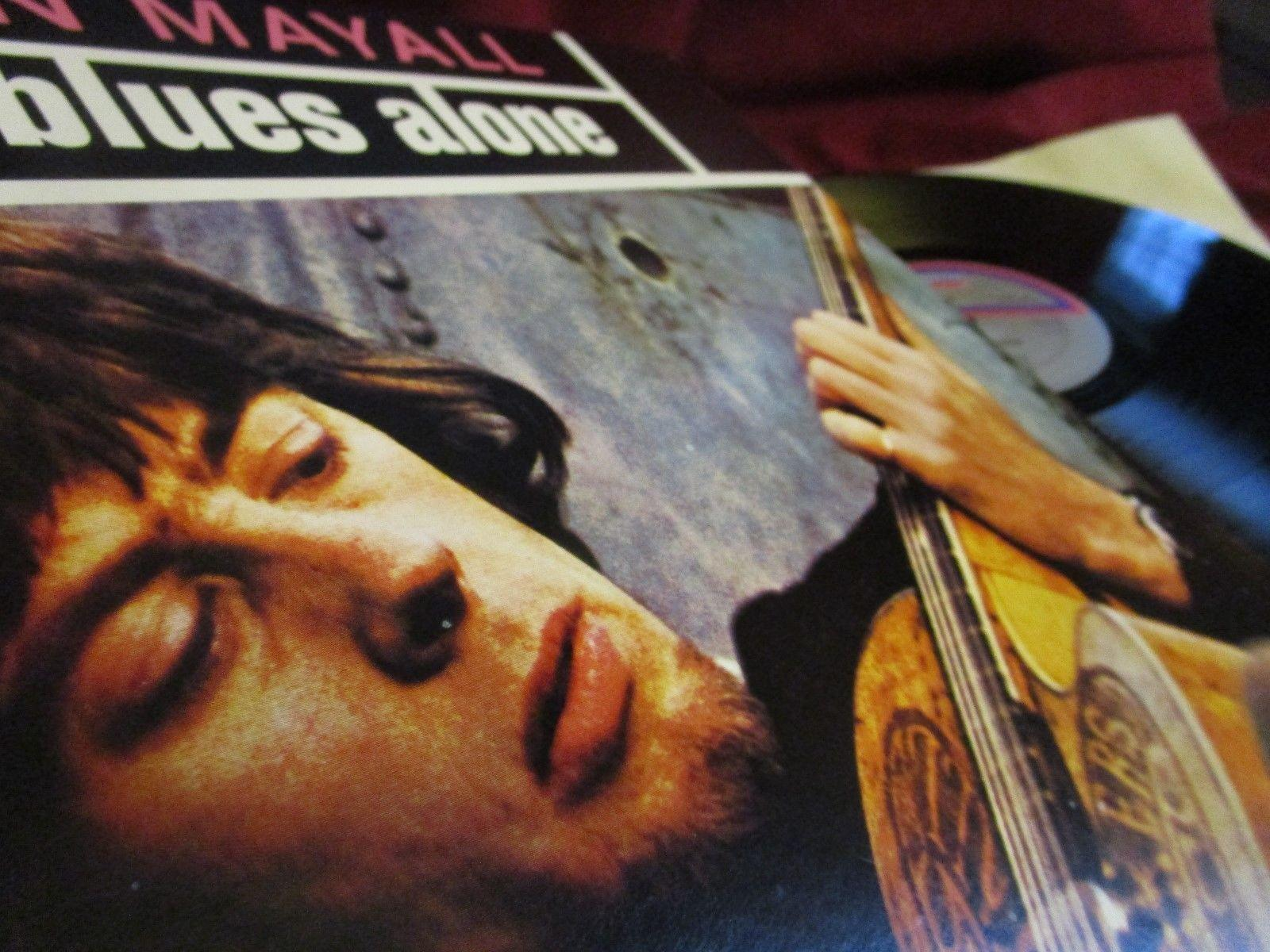 JOHN MAYALL ? THE BLUES ALONE ? UNPLAYED ARCHIV ALBUM MINT DECCA PRESSUNG