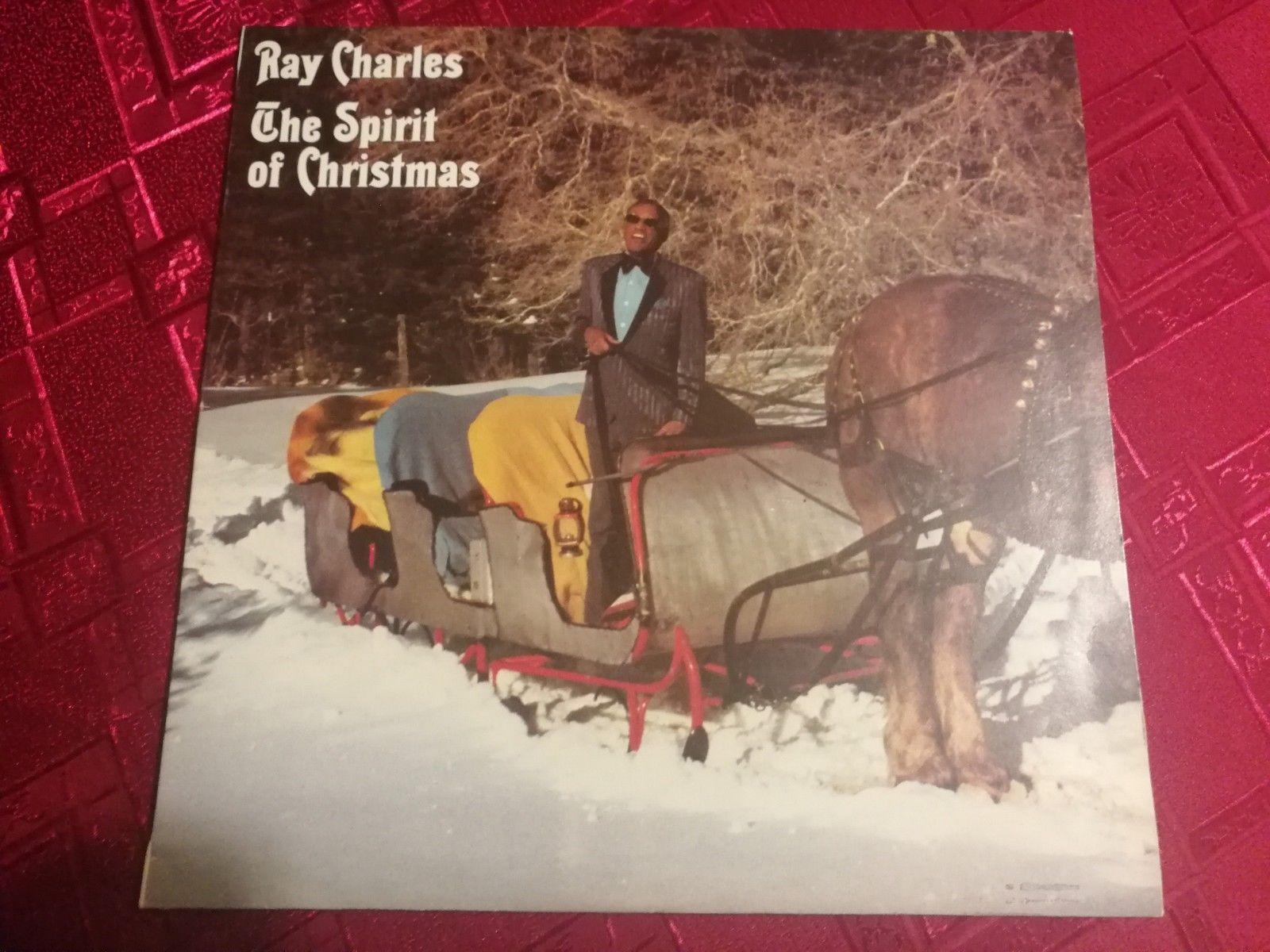 RAY CHARLES - The Spirit Of Christmas - NEAR MINT LP / NM COVER - RARE VINYL