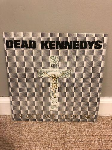 Dead Kennedys - In God We Trust - 1981 Import Virus 5 Used