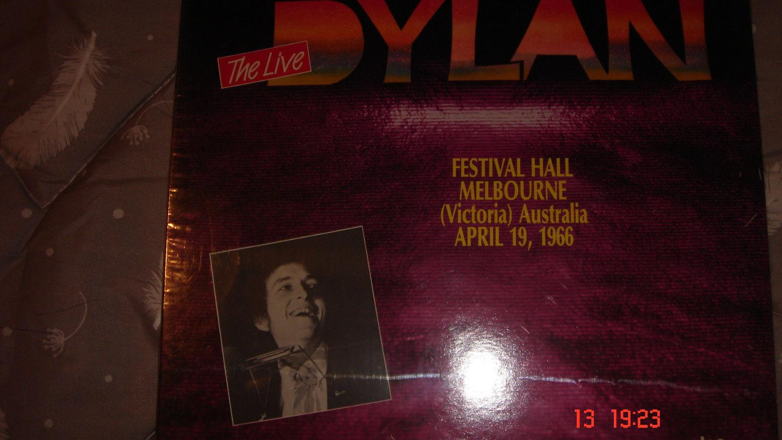 BOB DYLAN §§ FESTIVAL HALL MELBOURNE 1966 §§ MADE IN ITALY §§ 1988 §§ NEUF