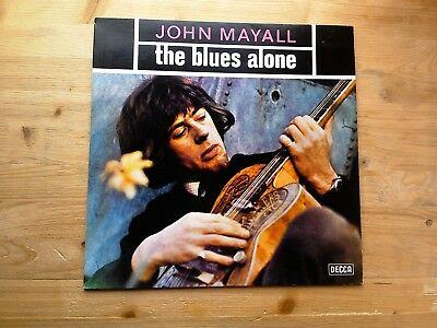 John Mayall The Blues Alone Excellent Vinyl LP Record 6 30122 05