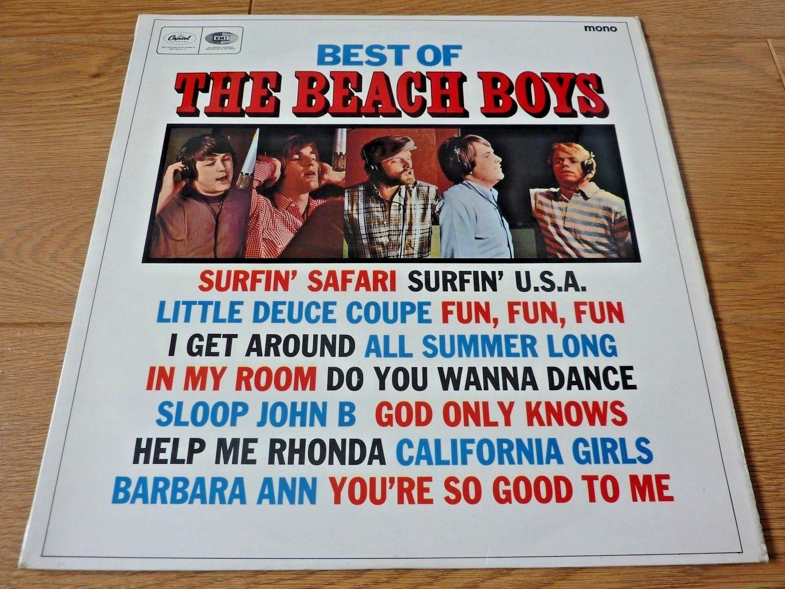 Best Of The Beach Boys 1966 UK VINYL LP Greatest Hits ST20856 Original Pressing