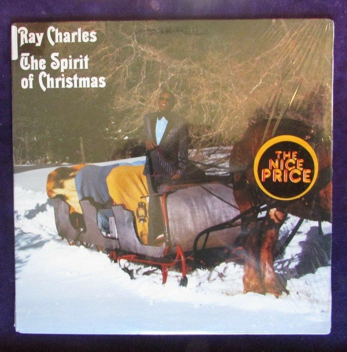Ray Charles The Spirit of Christmas    Columbia PC40125 1983 Mint- Played Once