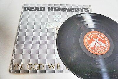 DEAD KENNEDYS - IN GOD WE TRUST 1981 ALTERNATIVE TENTACLES-LP/Vinyl/Record