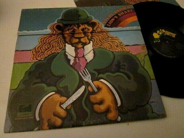 SAVOY BROWN - LION'S SHARE - STAMPA GIMMICK APRIBILE USA - LP VINILE