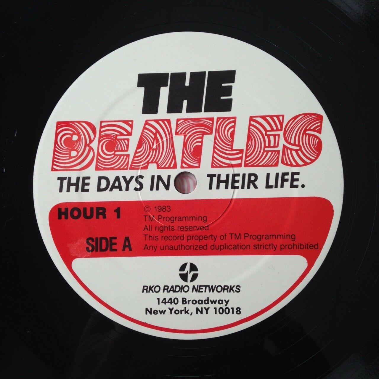 "Beatles ""The Days In Their Life"" - RKO Radio Show 30 LP 1983 Great Condition"