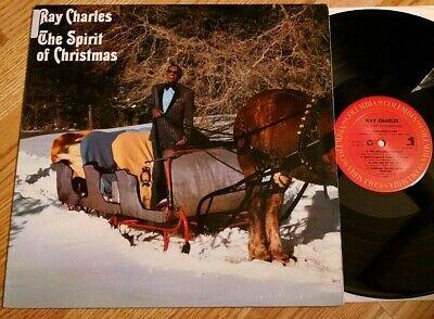 Ray Charles - The Spirit of Christmas LP Columbia/1985 VG+
