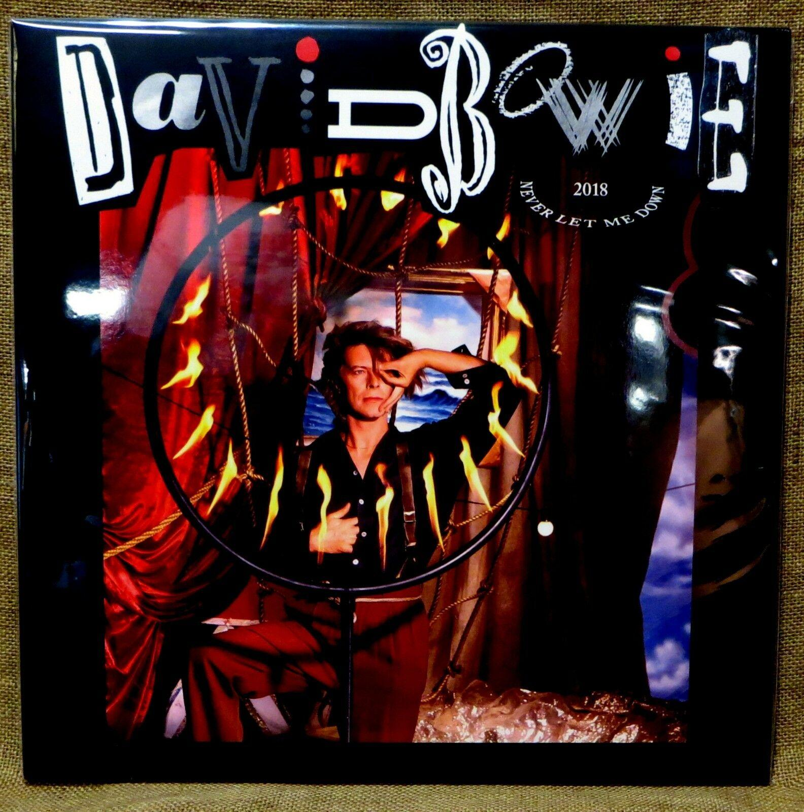 NEW AUDIOPHILE 180g 3 Sided LP DAVID BOWIE NEVER LET ME DOWN LOVING THE ALIEN