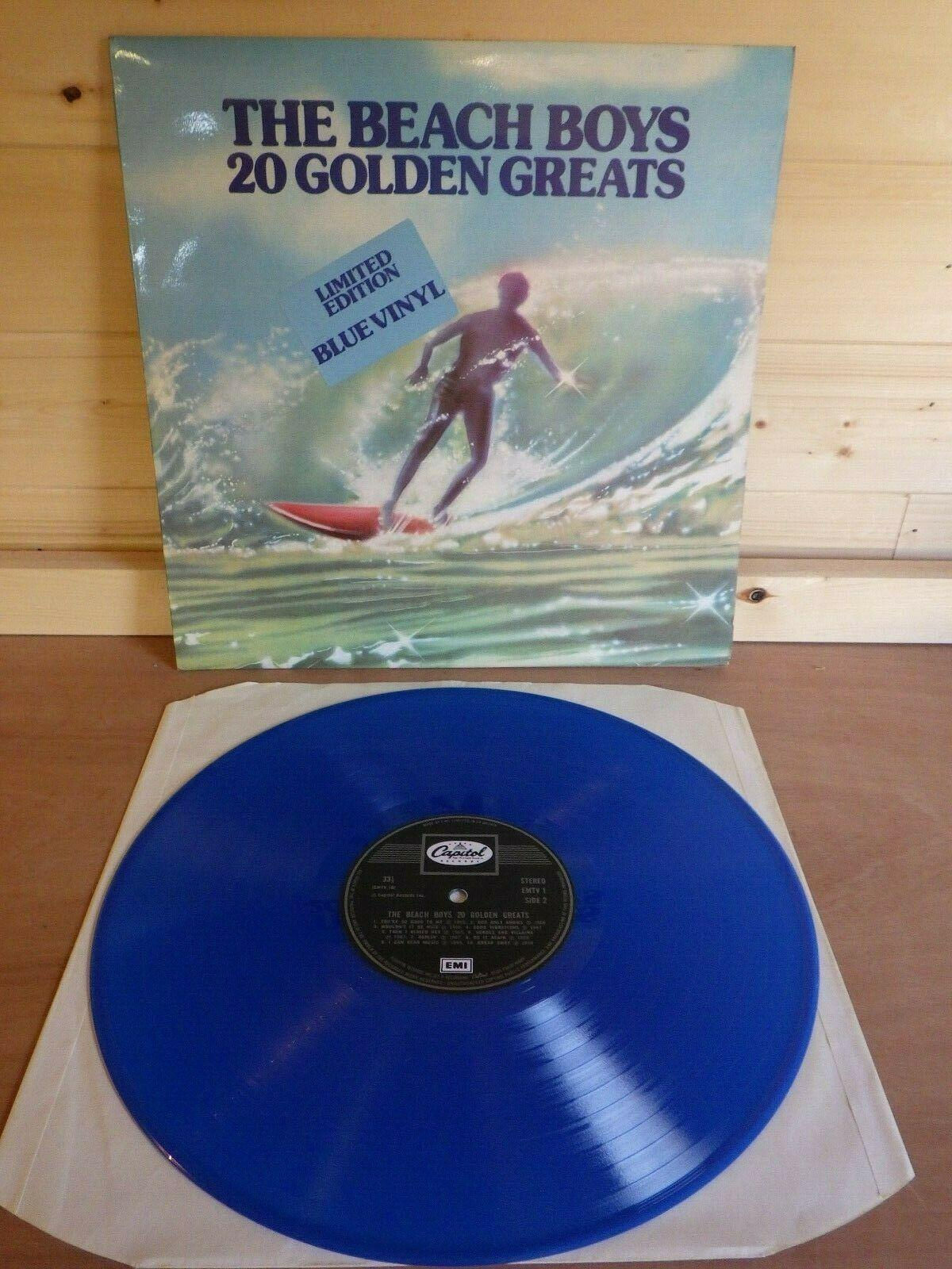 Beach Boys, Golden greatest Hits, BLUE Vinyl LP, limited edition, EMTV1 NM/NM