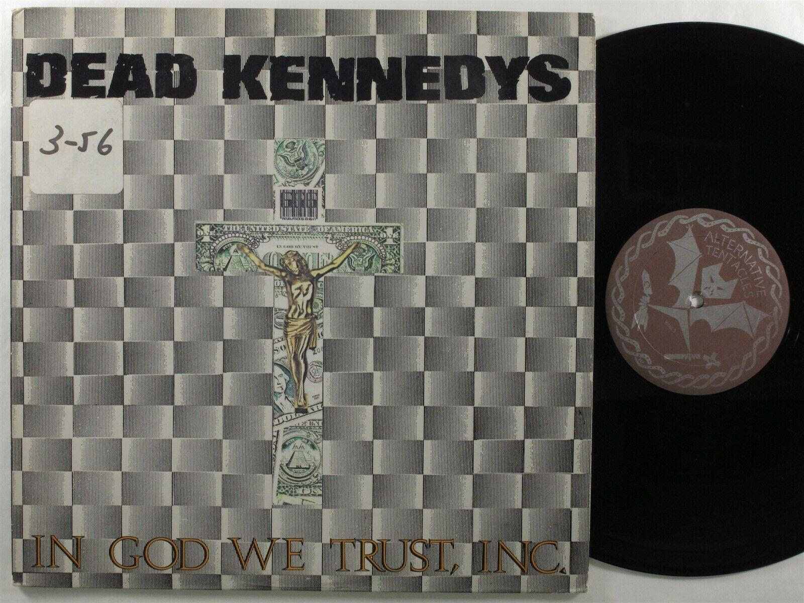 DEAD KENNEDYS In God We Trust, INC ALTERNATIVE TENTACLES LP VG+/VG++