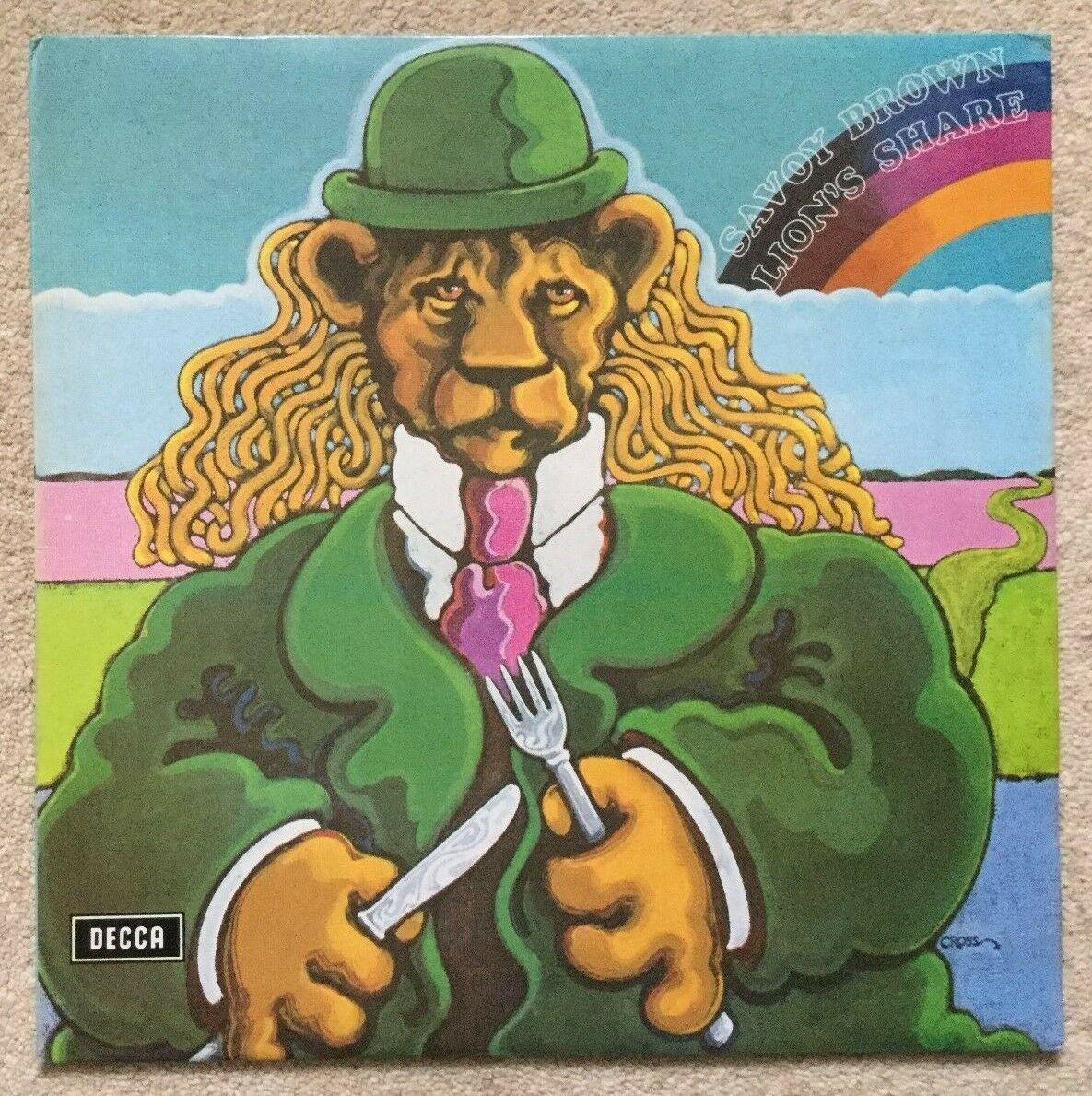 SAVOY BROWN – LIONS SHARE UK LP DECCA SKL 5152