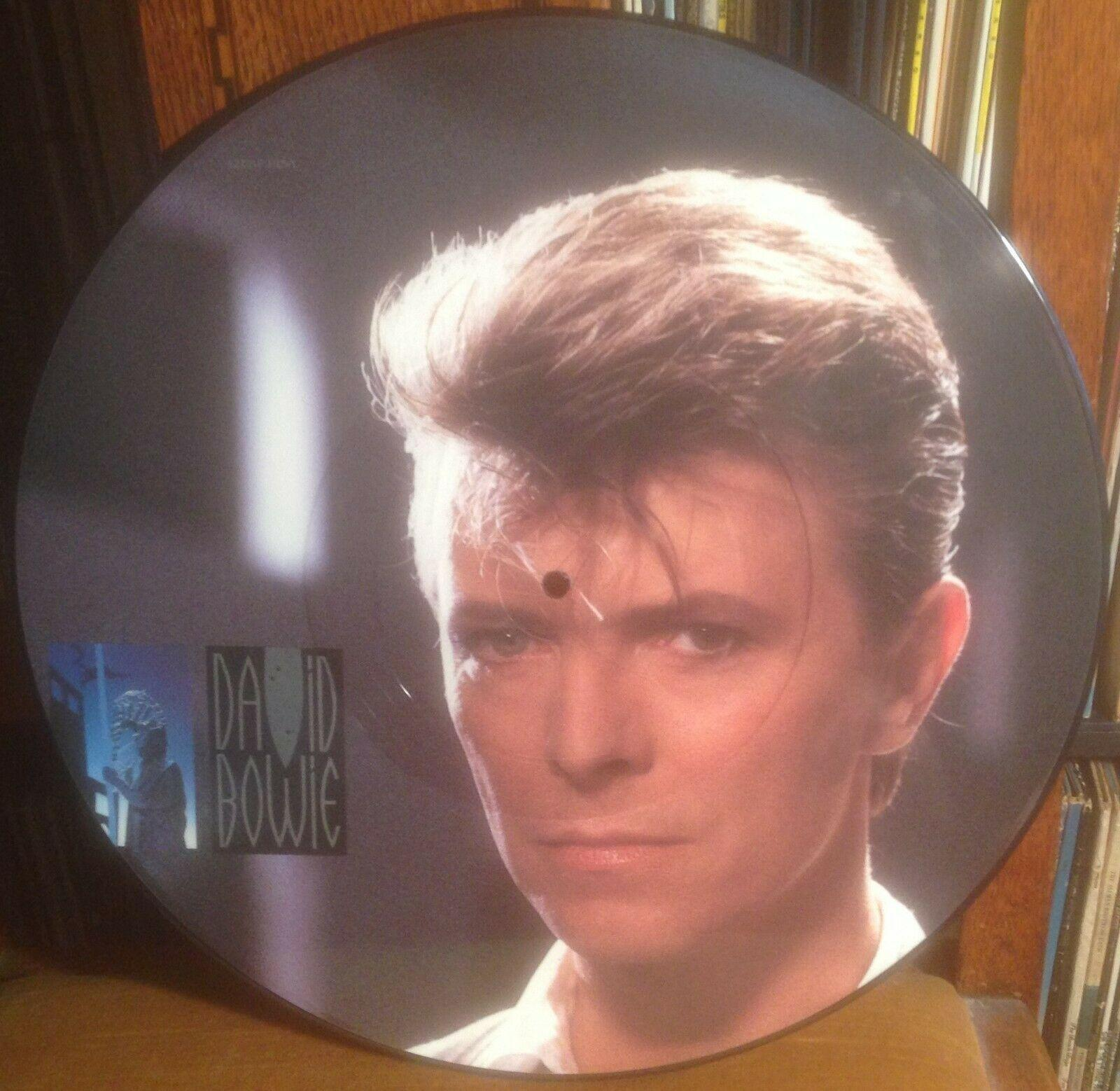 "DAVID BOWIE loving the alien*don't look down '85 UK EMI AMERICA 12"" PICTURE DISC"