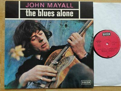 JOHN MAYALL - THE BLUES ALONE near mint/laminated/1st press 1967/Decca/D