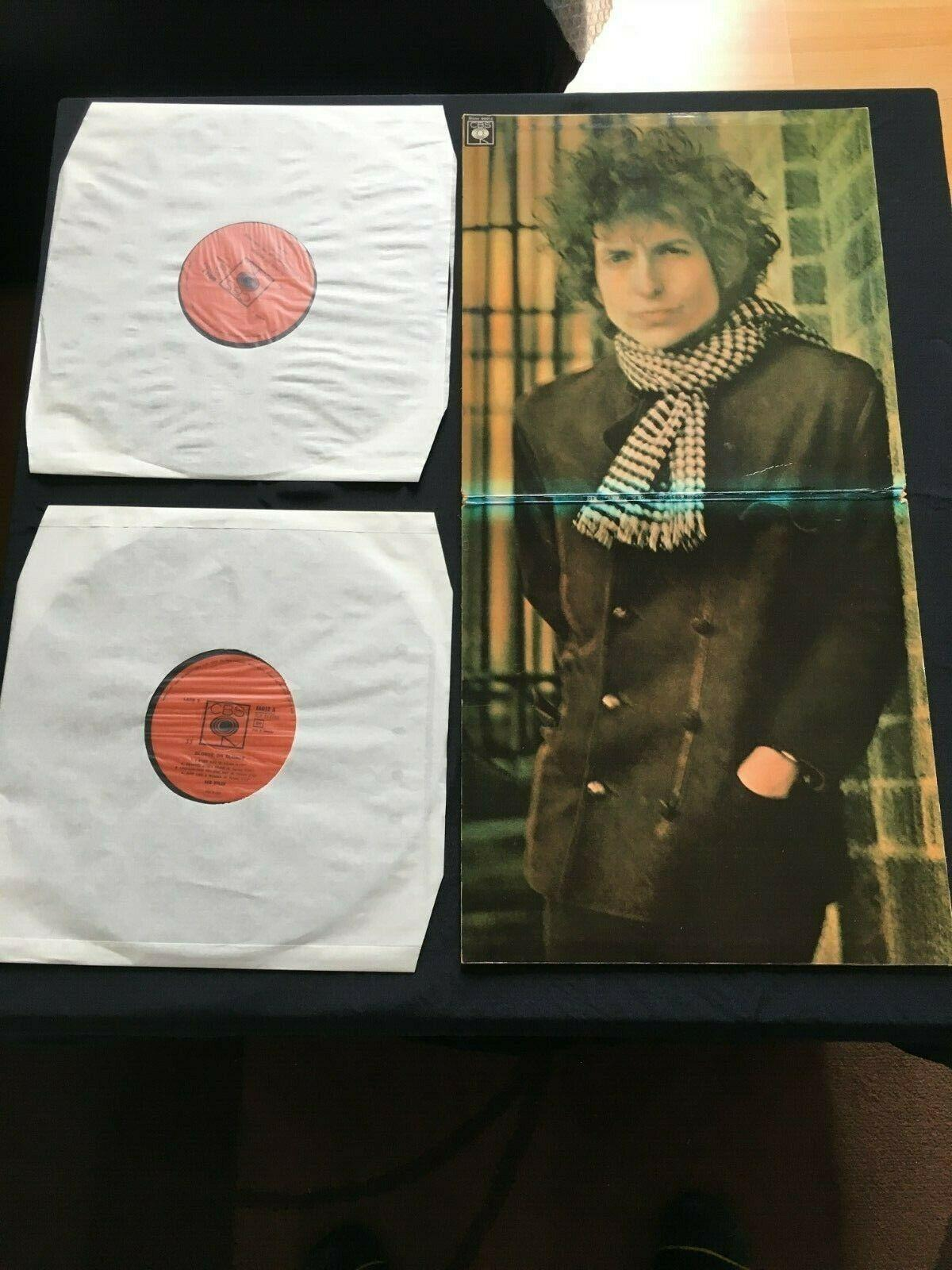 Bob Dylan Blonde on blonde 1st press Mono Italy Cardinale pic signed?
