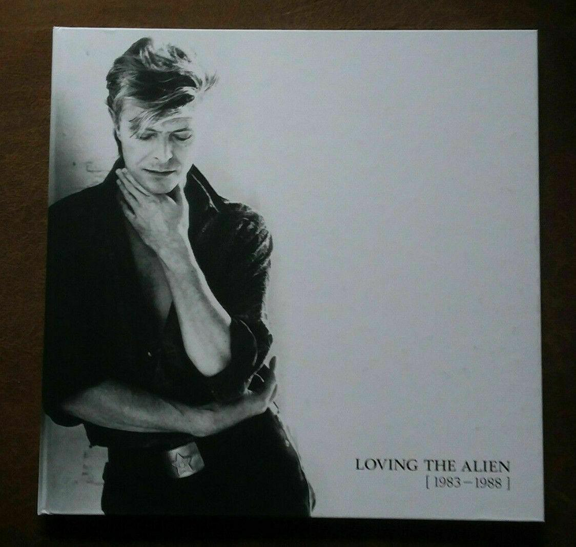 DAVID BOWIE - BOOK ONLY from VINYL Loving The Alien (1983-1988) BOX SET No Music