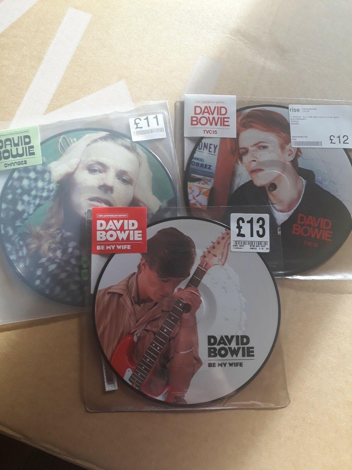 David Bowie RSD Vinyl (Changes / Be My Wife / TVC15)