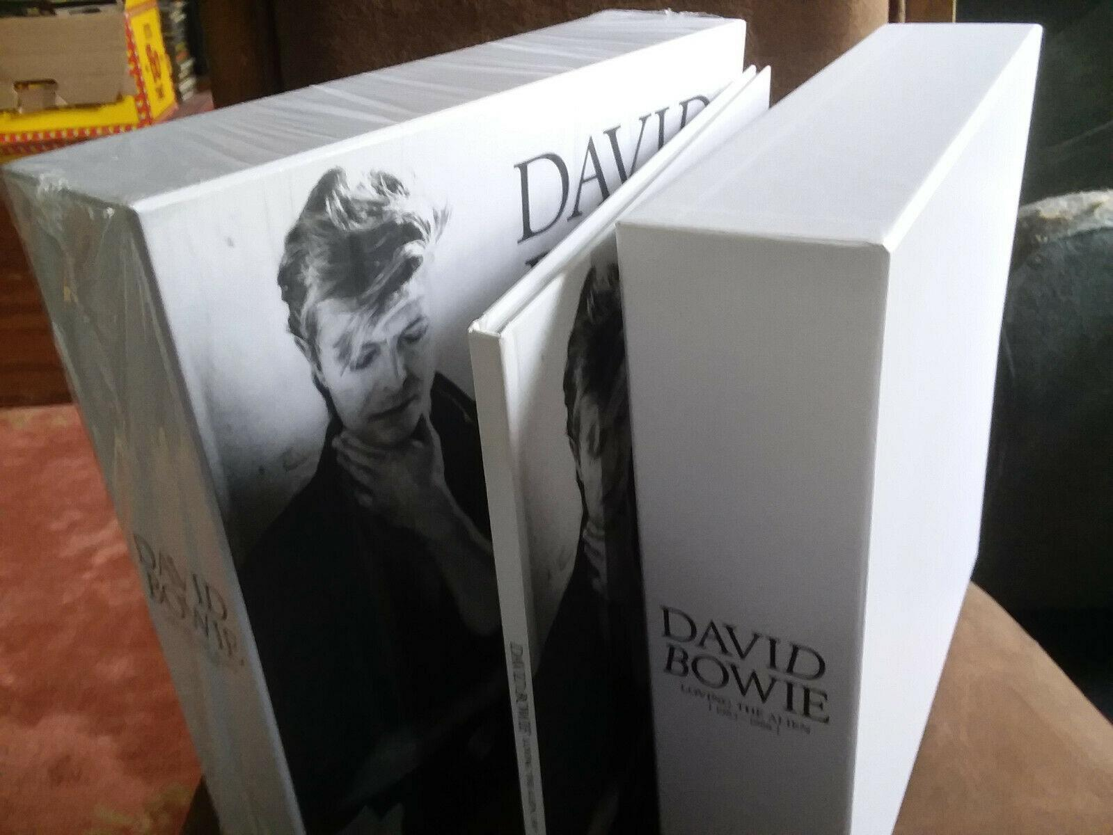 DAVID BOWIE - EMPTY BOX and BOOK ONLY from Vinyl LOVING THE ALIEN set No Albums