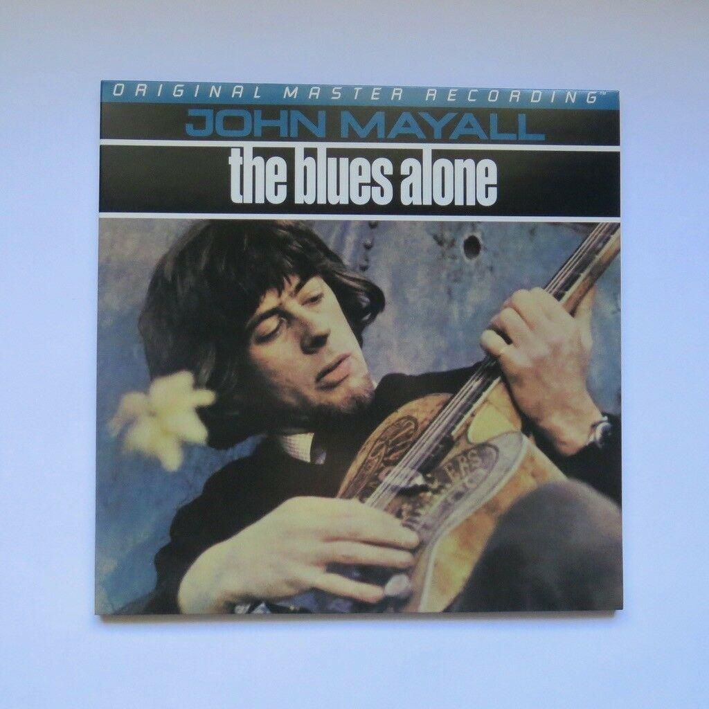 John Mayall The Blues Alone MFSL LP Original Master Recording 200G Vinyl Album