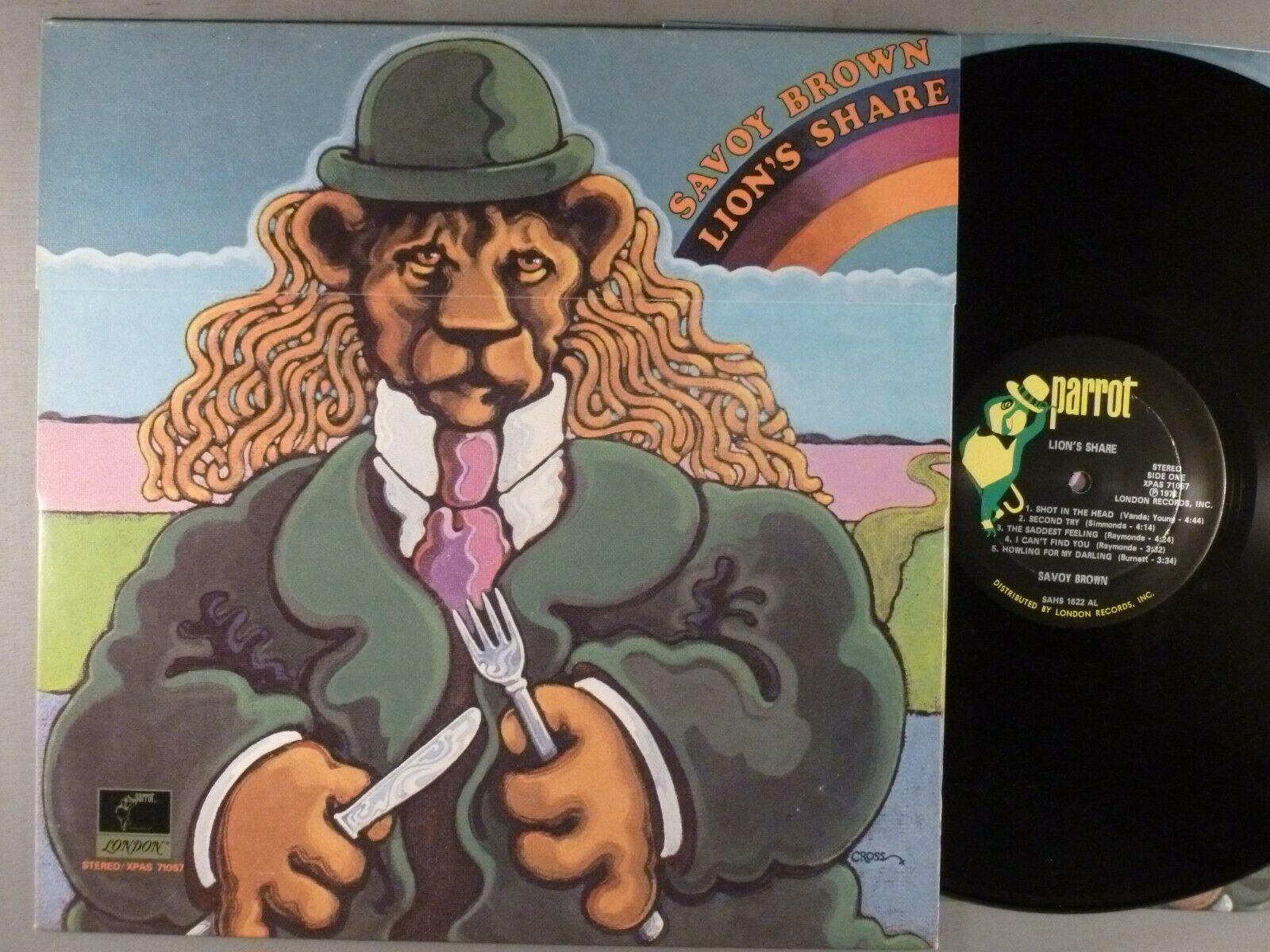 Savoy Brown  Lion's Share    Blues Rock