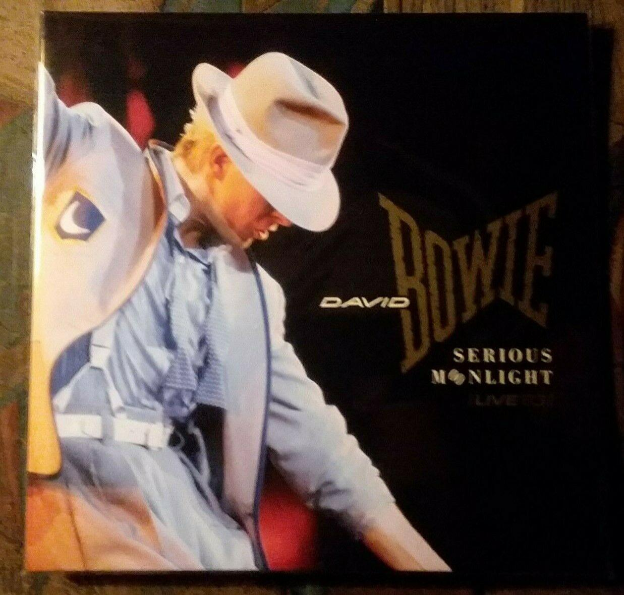 DAVID BOWIE SERIOUS MOONLIGHT LIVE 1983 NEW 180 GRAM 2 LP FROM LOVING THE ALIEN