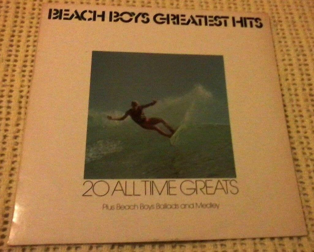 THE BEACH BOYS GREATEST HITS VINYL LP 1981 ORIGINAL AUSTRALIAN PRESS PLAY 1013