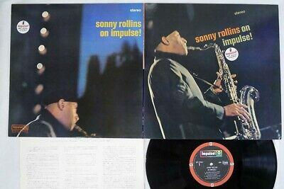 SONNY ROLLINS ON IMPULSE ABC/IMPULSE IMP-88061 Japan VINYL LP