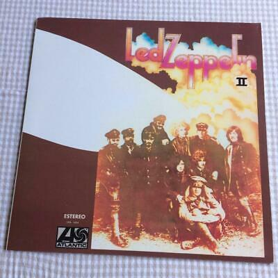 LED ZEPPELIN - Led Zeppelin II  RARE MEXICO  PRESSING- ORANGE VINYL- LWA 5004