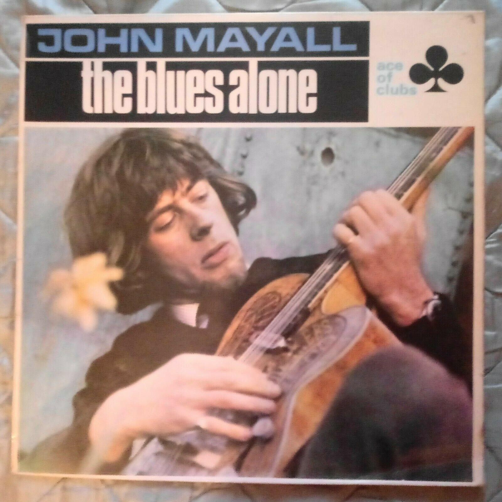 JOHN MAYALL - The Blues Alone 1st UK Press VG LP