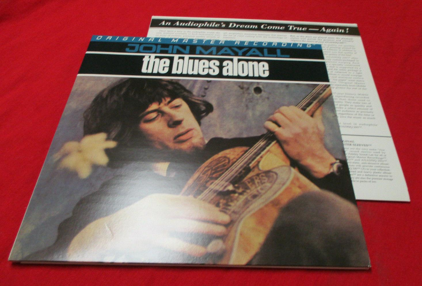 JOHN MAYALL Blues Alone LP (1995) MOBILE FIDELITY MFSL Blues Rock