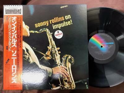 SONNY ROLLINS ON IMPULSE IMPULSE VIM 4648 OBI STEREO GATEFOLD JAPAN Vinyl LP