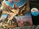 LIEGE LORD Freedom`s Rise BLACK DRAGON REC 1ED France 1985 RARE HEAVY METAL NM